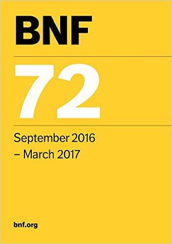 British National Formulary (BNF) 72