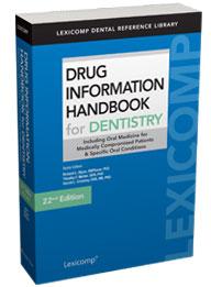 Handbook information lexicomp drug pdf